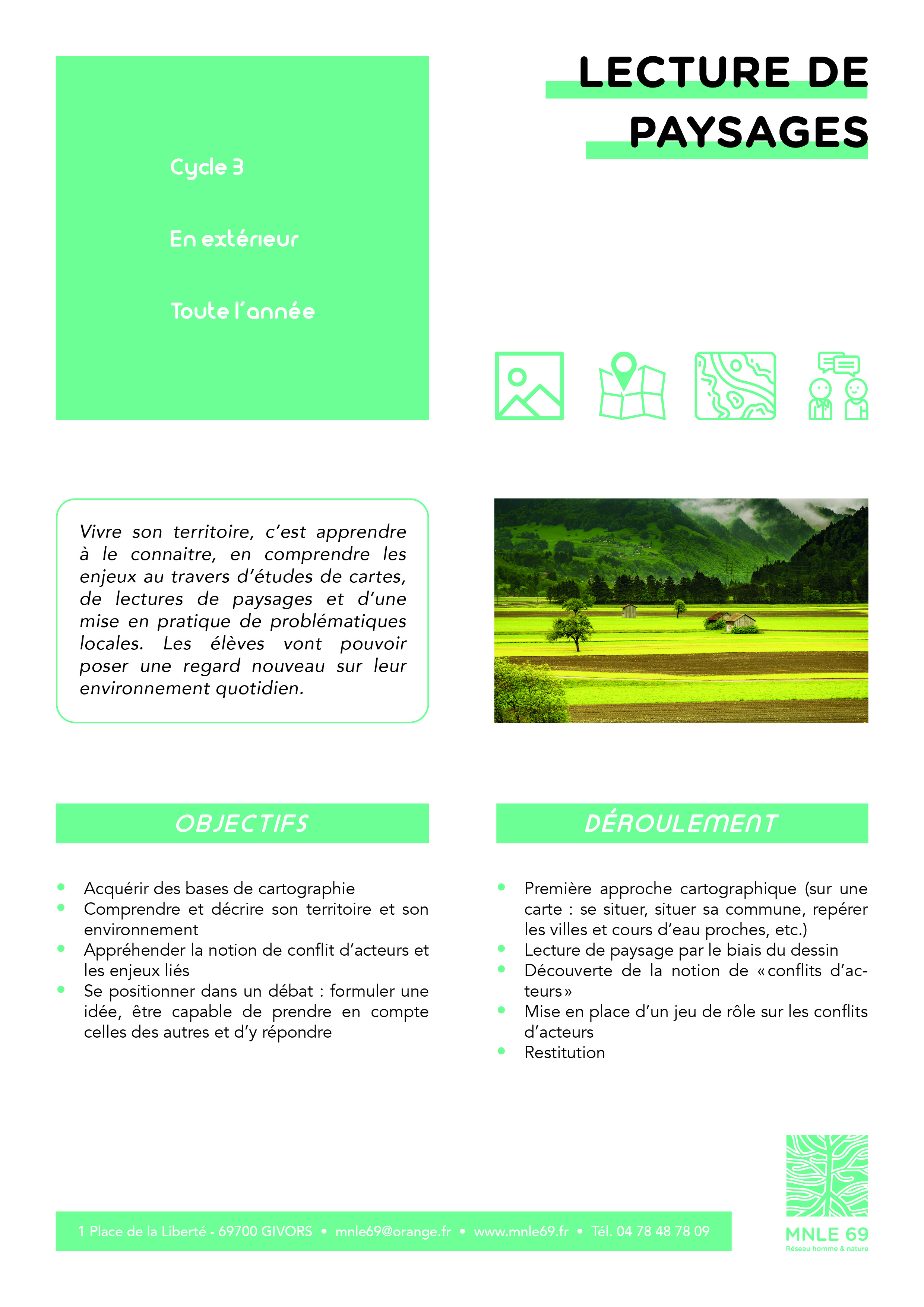 LectureDePaysages